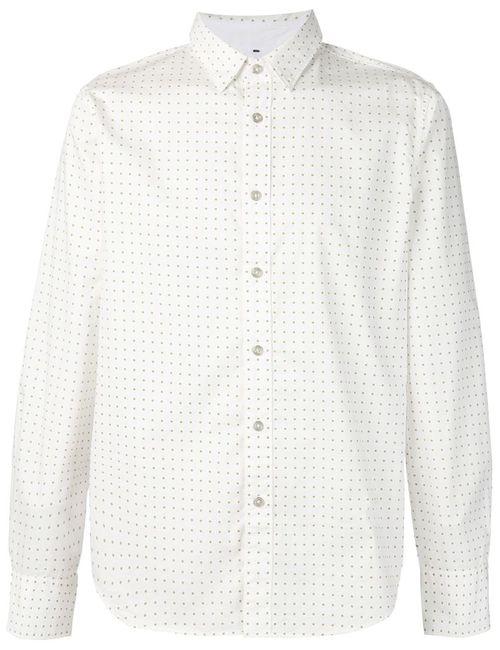 Rag & Bone | Мужская Белая Рубашка The Stock