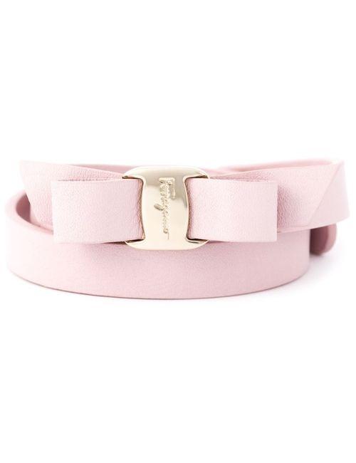 Salvatore Ferragamo   Женское Розовый Vara Bow Bracelet