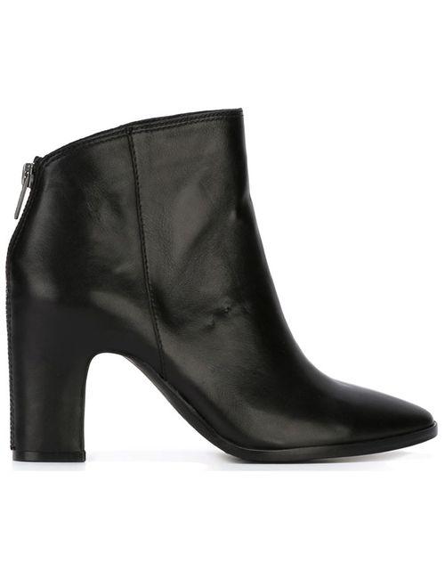 Ash | Женские Чёрные Ботинки По Щиколотку