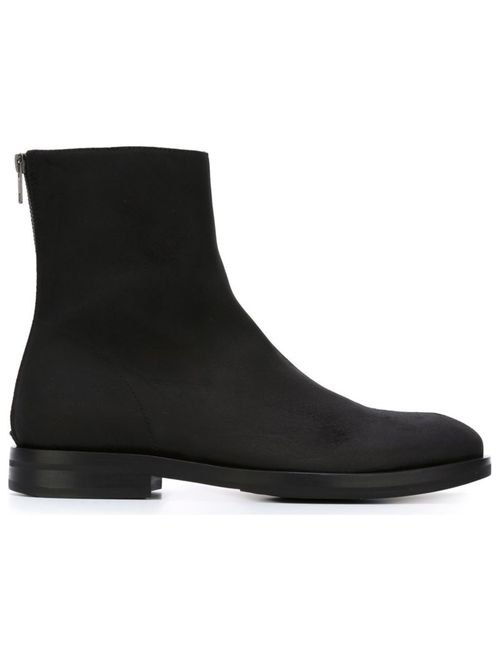 Ann Demeulemeester | Мужские Чёрные Ботинки На Молнии