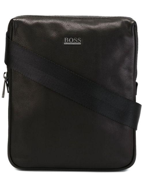 Boss Hugo Boss | Мужская Черный Классическая Сумка-Почтальонка