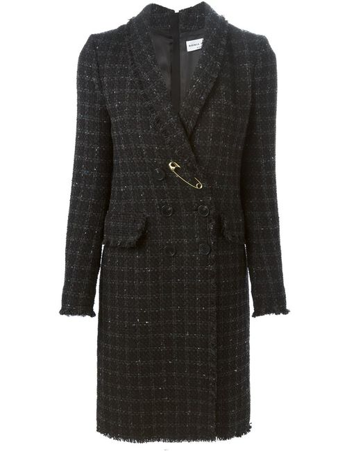 Sonia Rykiel | Женское Чёрный Checked Double Breasted Coat