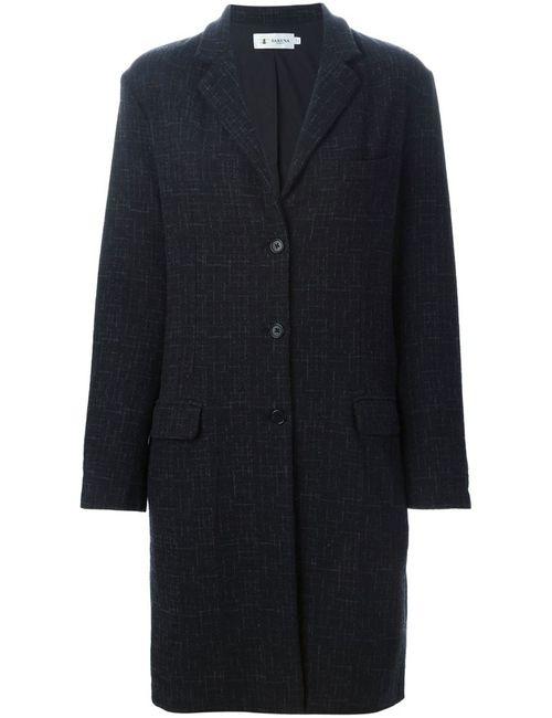 Barena | Женское Чёрное Однобортное Пальто