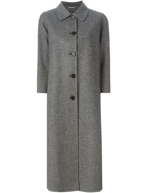 Rochas | Женское Серый Houndstooth Coat