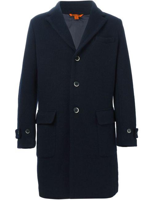 Barena | Мужское Синее Классическое Однобортное Пальто