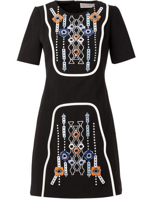 Peter Pilotto | Женское Черный Embellished A-Line Dress