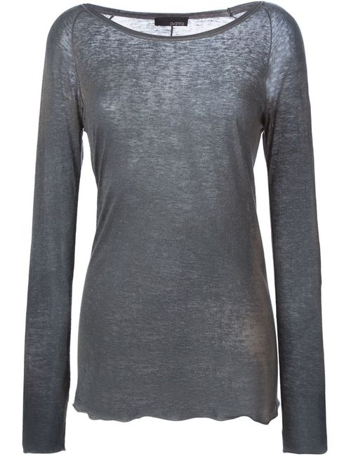 Avant Toi | Женское Серый Scoop Neck Sweater