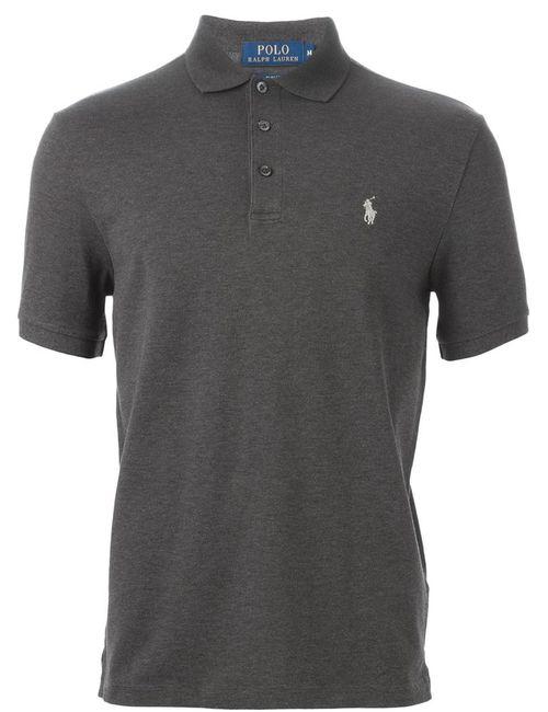 Polo Ralph Lauren | Мужское Серый Embroidered Logo Polo Shirt