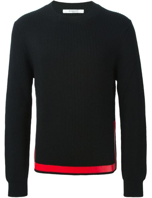 Givenchy | Мужское Черный Contrasting Stripe Sweater