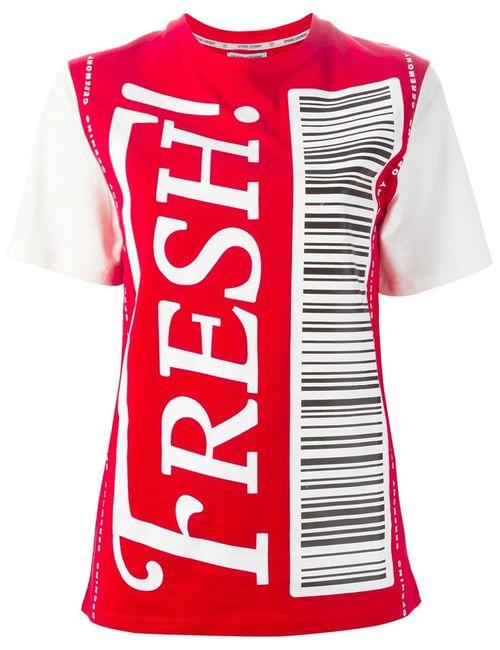 Opening Ceremony | Женское Красный Fresh T-Shirt