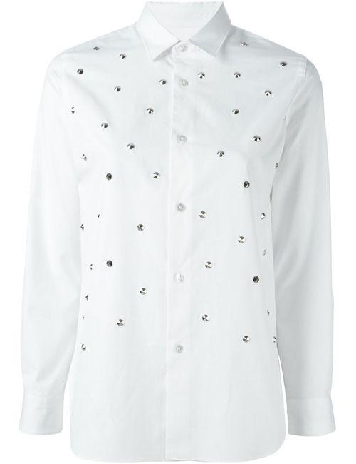 JUNYA WATANABE COMME DES GARCONS | Женская Белая Рубашка С Залкепками
