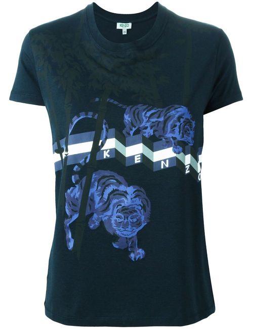 Kenzo | Женское Tiger Bamboo Print T-Shirt