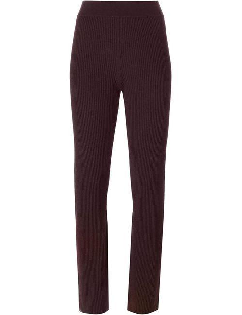 Iro | Женское Красный Ribbed Knit Trousers