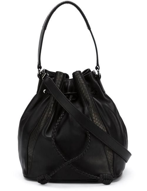 KHIRMA ELIAZOV | Женское Чёрный Mini Edam Bucket Bag