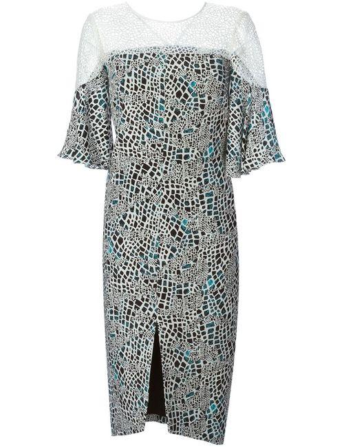 GINGER & SMART   Женский Многоцветный Многосйлоное Платье Oceanic