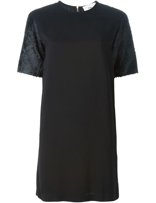 Folk   Женское Чёрное Платье Rhythm