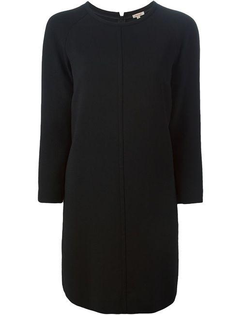 P.A.R.O.S.H. | Женское Чёрное Платье Шифт Свободного Кроя