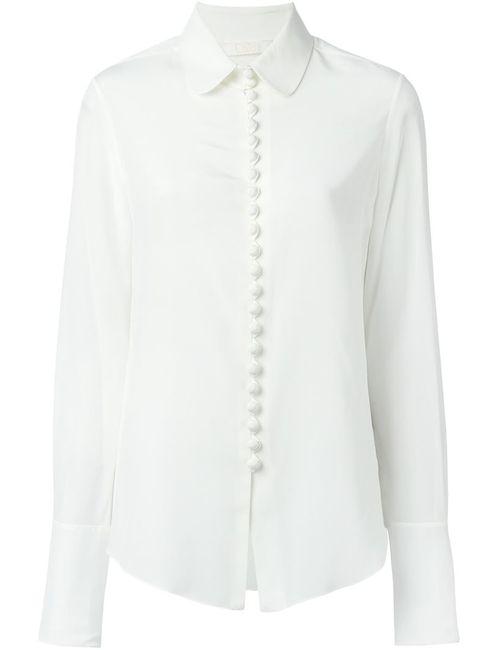 Chloe | Женская Белая Блузка С Воротником Питер Пен