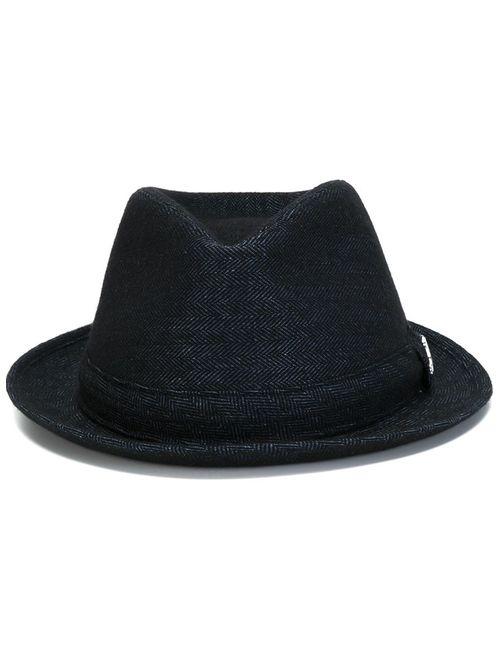 Jacob Cohёn   Мужская Синяя Шляпа-Федора