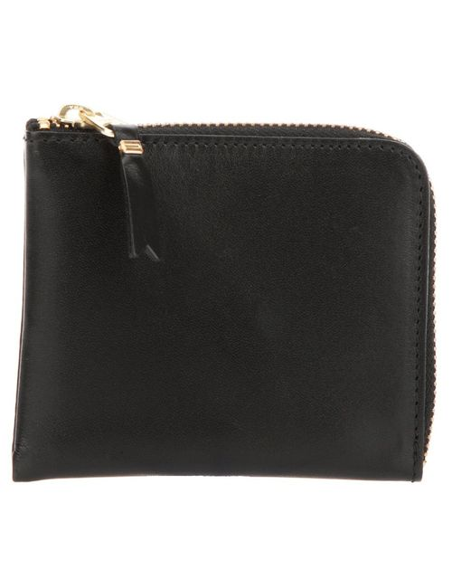 Comme Des Garcons | Женское Черный Two Side Zip Classic Wallet