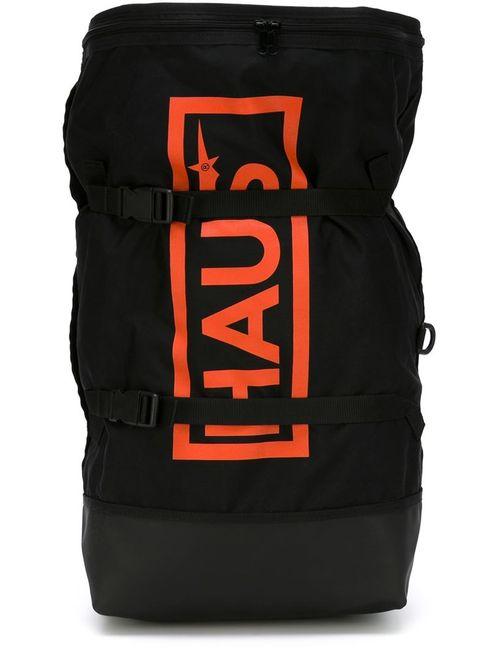 HAUS | Мужской Чёрный Рюкзак С Логотипом