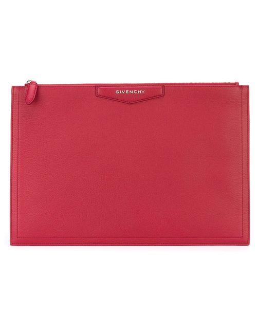Givenchy | Женский Красный Средний Клатч Antigona
