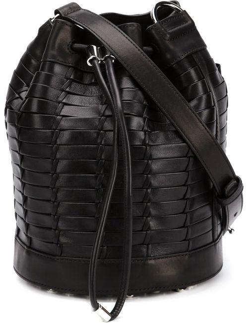 Alexander Wang | Женское Чёрный Alpha Bucket Crossbody Bag