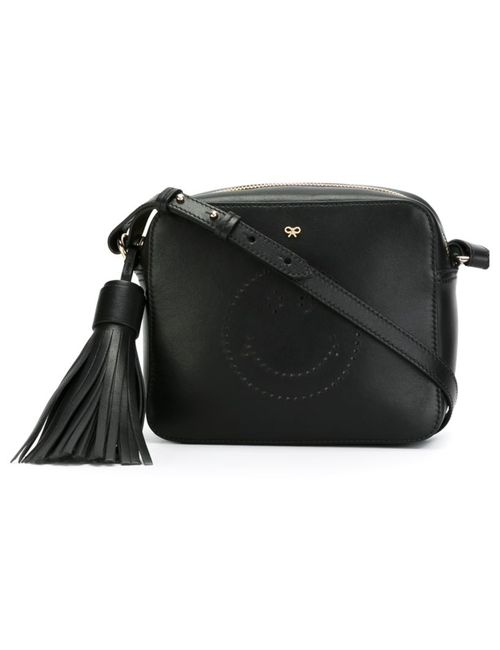 Anya Hindmarch | Женское Чёрный Smiley Cross-Body Bag