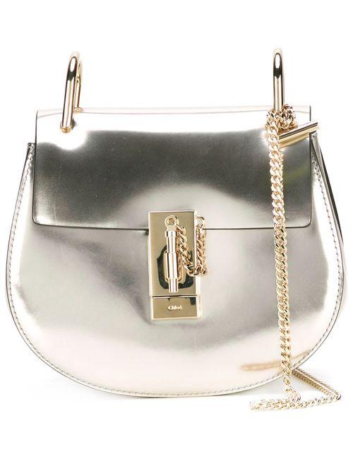 Chloe | Женское Серебристый Mini Drew Shoulder Bag