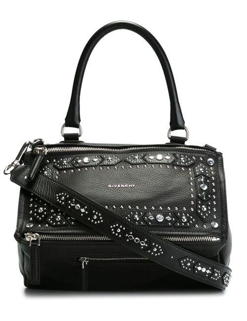 Givenchy | Женская Чёрная Большая Сумка На Плечо Pandora