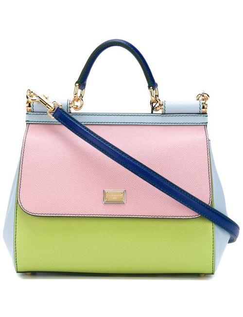 Dolce & Gabbana | Женская Розовая Сумка-Тоут Sicily