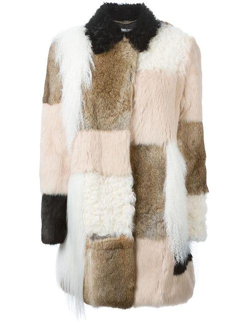 Just Cavalli | Женское Белый Panelled Coat