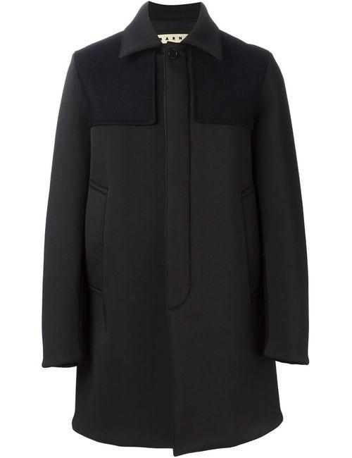 Marni | Мужское Черный Однобортное Пальто