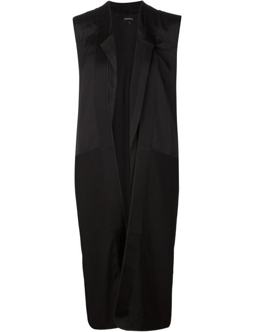 Ann Demeulemeester | Женское Чёрный Открытое Пальто Без Рукавов