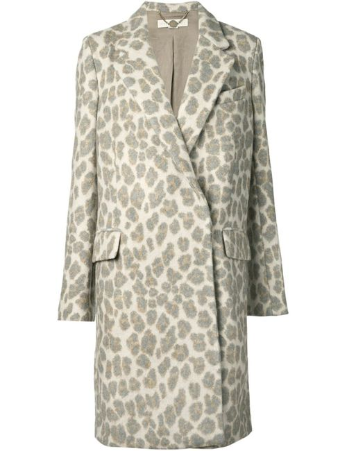 Stella Mccartney | Женское Серый Leopard Print Coat
