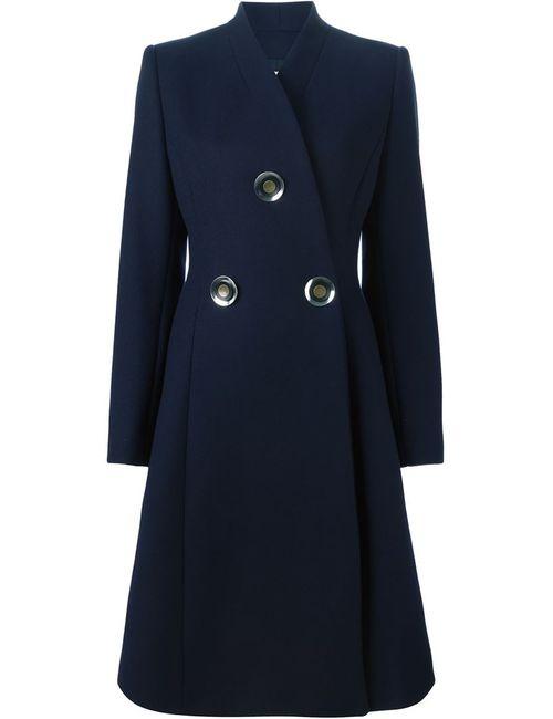 Stella Mccartney | Женское Синее Двубортное Пальто Penrose
