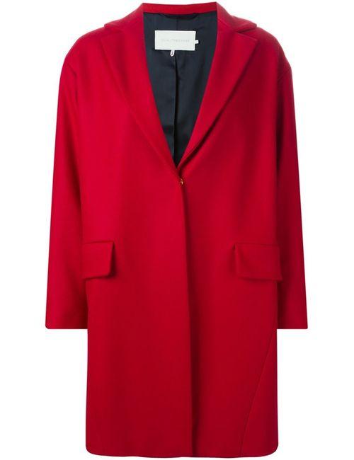 L' Autre Chose   Женское Красное Однобортное Пальто