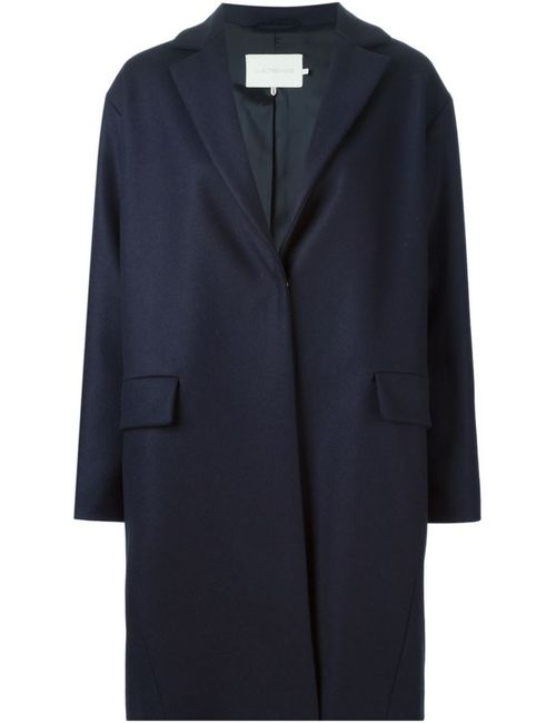 L' Autre Chose | Женское Синее Однобортное Пальто