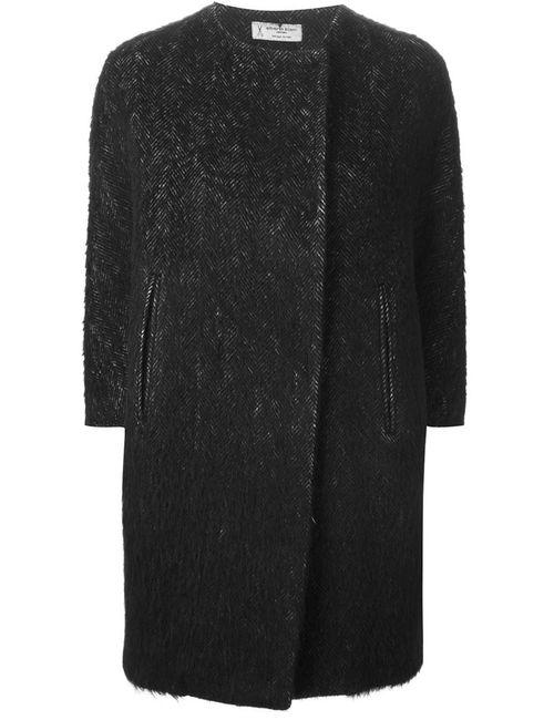 Alberto Biani | Женское Чёрный Herringbone Effect Coat
