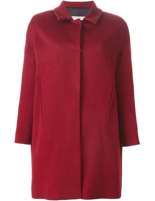 Alberto Biani | Женское Красное Однобортное Пальто