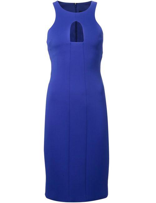 Cushnie Et Ochs | Женское Синее Облегающее Платье