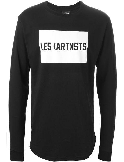 LES ARTISTS | Мужская Чёрная Рубашка С Принтом