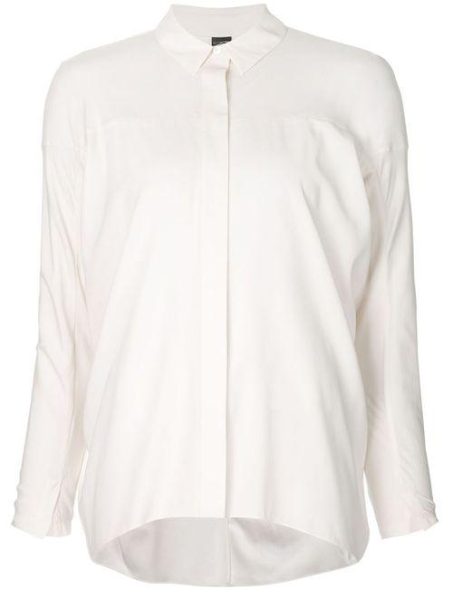 Zero + Maria Cornejo | Женская Рубашка С Потайной Застежкой