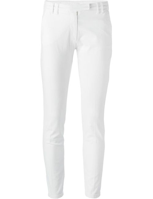 Eleventy | Мужское Белый Skinny Fit Trousers
