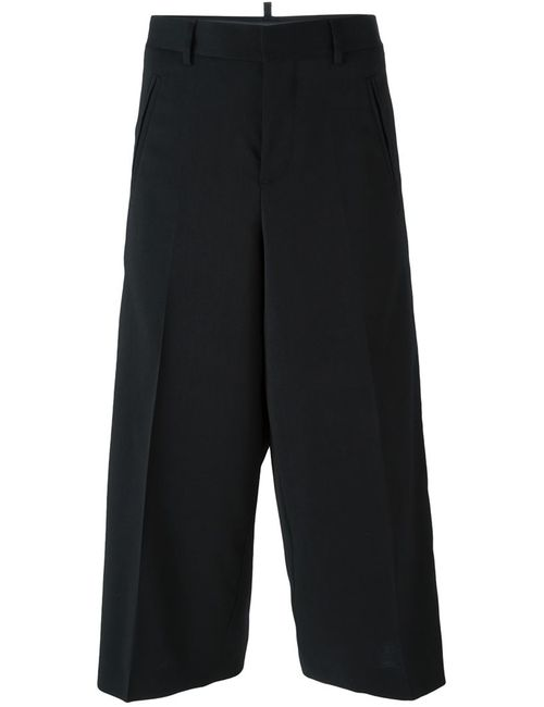 Dsquared2 | Женское Чёрный High Rise Culottes