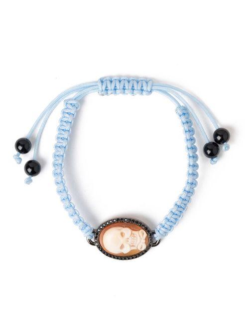 AMEDEO | Женское Синий Skull Bow Cameo Bracelet