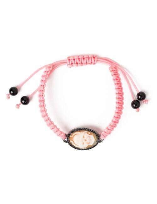 AMEDEO | Женское Розовый Viking Cameo Bracelet