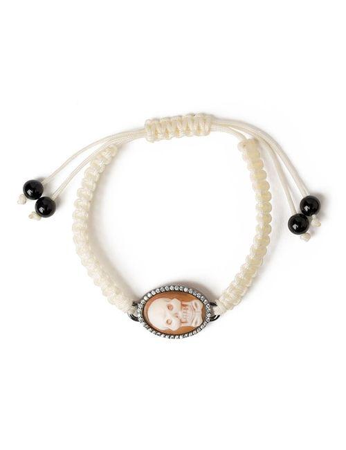AMEDEO | Женское Белый Skull Bow Cameo Bracelet