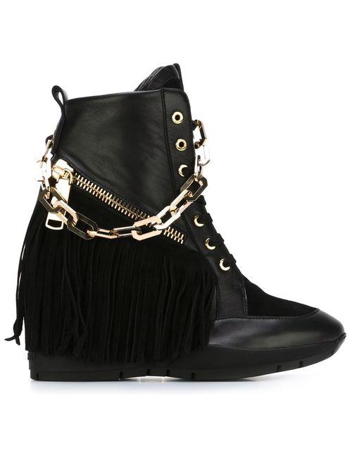 Dsquared2 | Женские Чёрные Ботинки Manituou