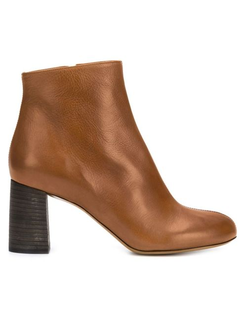 Chloe | Женское Коричневый Chunky Heel Boots